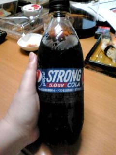 「ペプシストロング」、飲んだ!