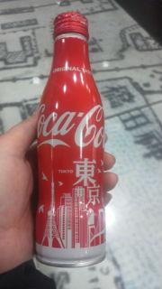 東京のコカ・コーラ!