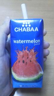 成城石井で買った「すいかジュース」、おいしい!